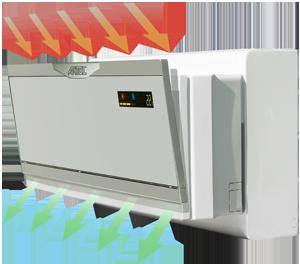 Vendita climatizzatori grandi offerte di climatizzatori - Condizionatore unita esterna piccola ...